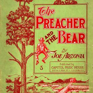Preacher and the Bear (sheet music)