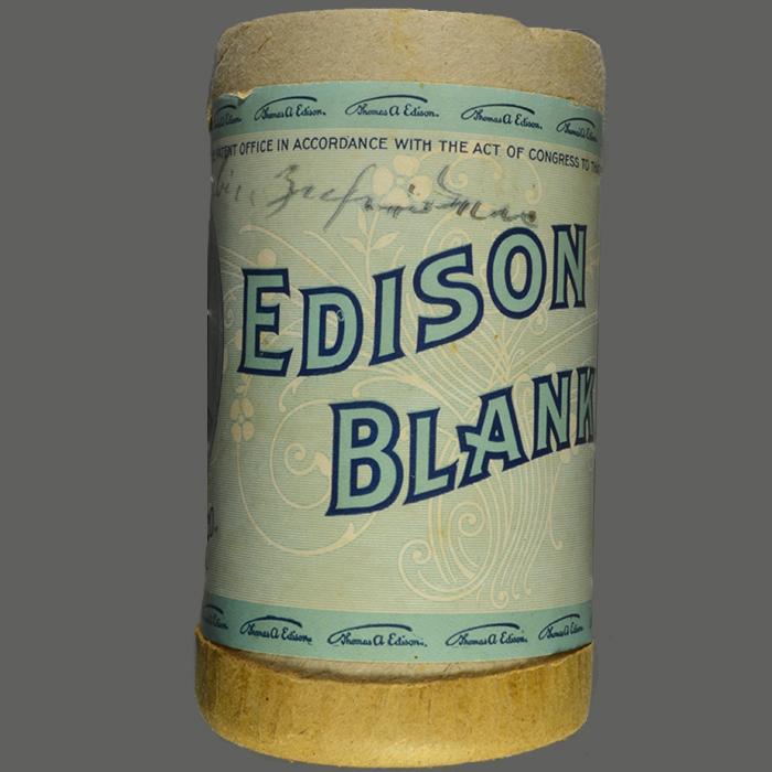 Edison Blank Cylinder