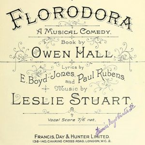 Florodora sheet music