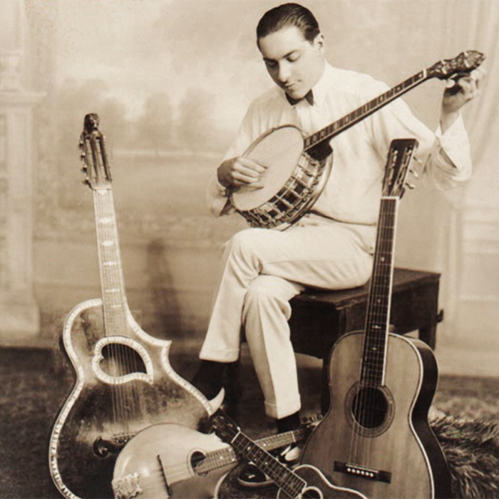 Roy Smeck of The Dizzy Trio