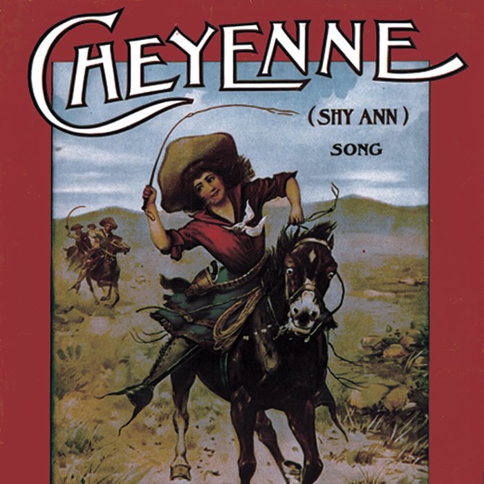 Cheyenne (sheet music)