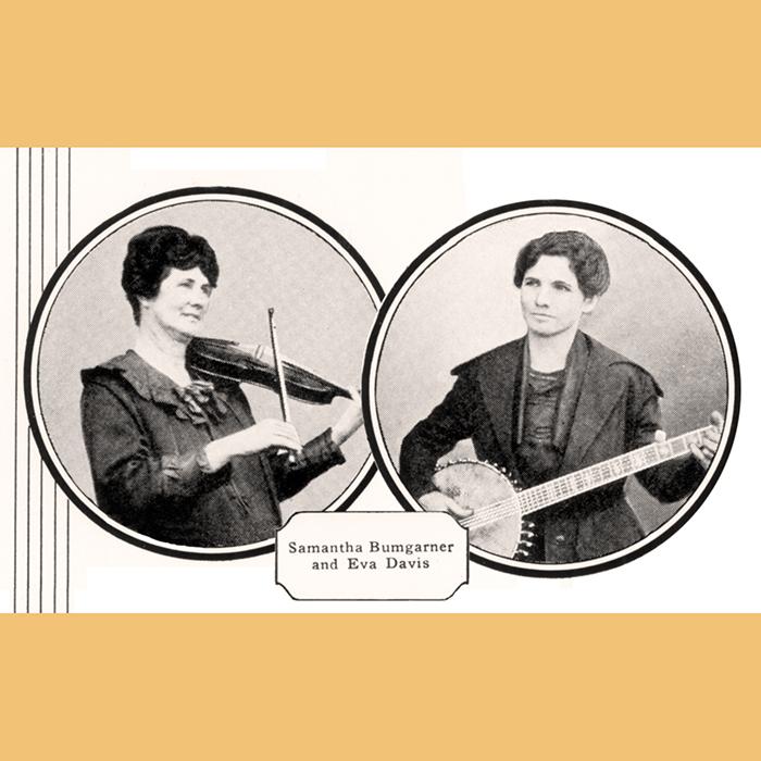 Samantha Bumgarner and Eva Davis